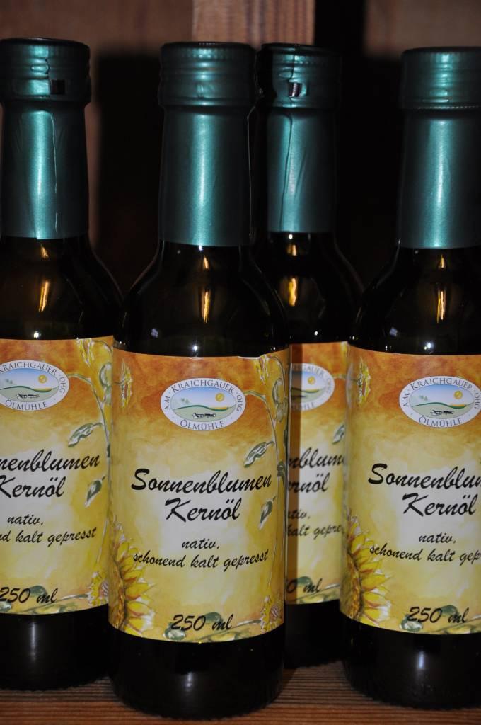 Kraichgauer Ölmühle Sonnenblumenkernöl 250 ml von der Kraichgauer Ölmühle