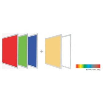 Led Paneel 60x60cm, 36w, RGB+CCT, 3 Jaar Garantie