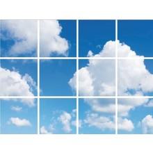 Fotoprint afbeelding Wolken 180x240cm voor 12x 60x60cm led paneel