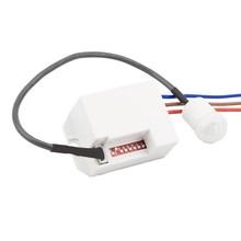 Inbouw Mini Bewegingsmelder 360 graden, Max. 800w, IP20, 2 Jaar Garantie