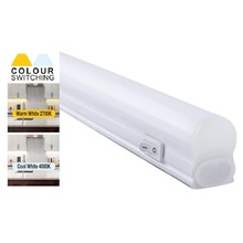 LED-Kabinettleuchte 30cm, 4w, 360 Lumen, Farbschalter 2700K/4000K, anschließbar, 2 Jahre Garantie