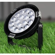 Mi-Light LED Prikspot 9w, RGB+CCT Wifi/RF, 700 Lumen, IP65, 230v, 2 Jaar Garantie