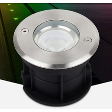 Mi-Light LED Grondspot 5w, RGB+CCT Wifi/RF, 350 Lumen, IP68, 24v, 2 Jaar Garantie
