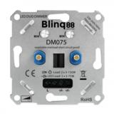 Blinq Universele DUO LED Dimmer 2x 3-75w met elektronische zekering