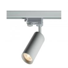3 Phasen Schienenarmatur mit GU10 Armatur mit langem Rohr, Gehäuse in weißer Farbe