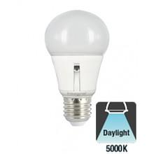 E27 8,5w Led lamp, 5000K Daglciht Wit, Dag/Nacht Sensor, 2 Jaar garantie