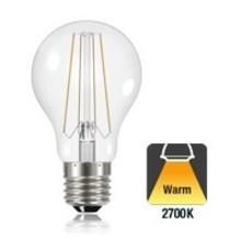 E27 6w Filament A60, Classic Globe, 806 Lumen, 2700K Warmweiß, 2 Jahre Garantie