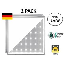 Backlite Led Paneel 62x62 cm, 40w, 4400 Lumen, 3000K Warm Wit, Flikkervrij, 3 Jaar Garantie