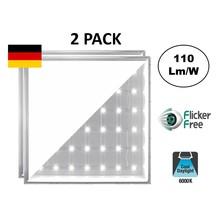 Backlite Led-Panel 62x62 cm, 40w, 4400 Lumen, 6000K Tageslichtweiß, flimmerfrei, 3 Jahre Garantie