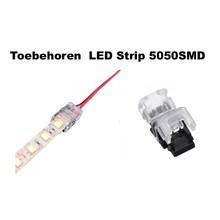 Led Strip Connector t.b.v. Led Strip 5050SMD 10mm (Zonder solderen)
