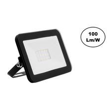 LED-Flutlicht Slim 10w, 1000 Lumen (100lm/w), IP65, 2 Jahre Garantie