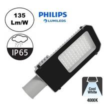 Led Straatverlichting 40w Philips LumiLeds, 5400 Lm (135lm/w), 4000K Neutraal Wit, IP65, 2 Jaar Garantie