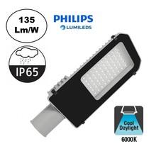 Led-Straßenleuchte 40w Philips LumiLeds, 5400 Lm (135lm/w), 6000K Tageslichtweiß, IP65, 2 Jahre Garantie
