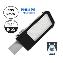 Led Straatverlichting 60w Philips LumiLeds, 8100 Lm (135lm/w), 4000K Neutraal Wit, IP65, 2 Jaar Garantie