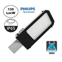 Led Straatverlichting 60w Philips LumiLeds, 8100 Lm (135lm/w), 6000K Daglicht Wit, IP65, 2 Jaar Garantie