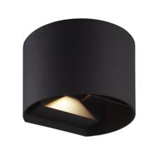 LED Wandlamp TEB 2x3 Watt, 2x 255 Lumen, 3000K Warm Wit, Dimbaar, IP65, Zwart, 2 Jaar Garantie