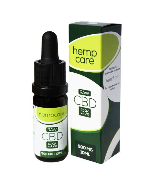 Hempcare Hempcare RAW CBD Olie 5% 10ml
