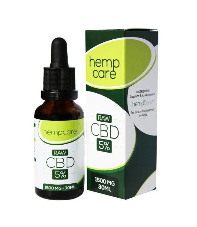 Hempcare Hempcare RAW CBD Oil 5% 30ml