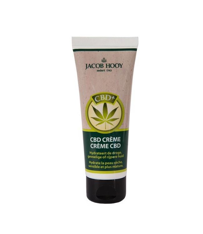 Jacob Hooy Jacob Hooy CBD Cream 50ml