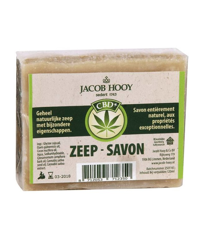 Jacob Hooy Jacob Hooy CBD Soap 120ml