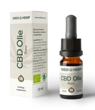 Medihemp Medihemp CBD Oil Raw 18% 10ml
