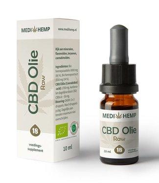 Medihemp Medihemp CBD Olie Raw 18% 10ml