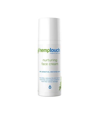 Hemptouch Hemptouch CBD Facial Cream Nurturing 50mg 50ml