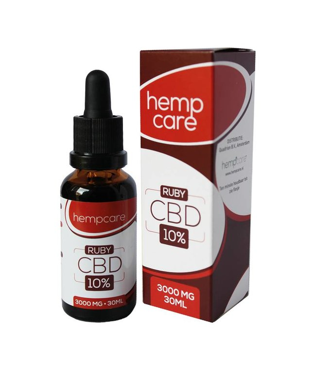 Hempcare Hempcare Ruby CBD Olie 10% 30ml