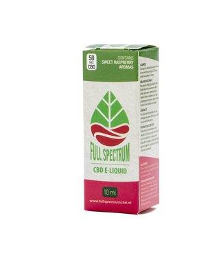 Fullspectrum CBD Fullspectrum CBD E-Liquid 50mg Raspberry