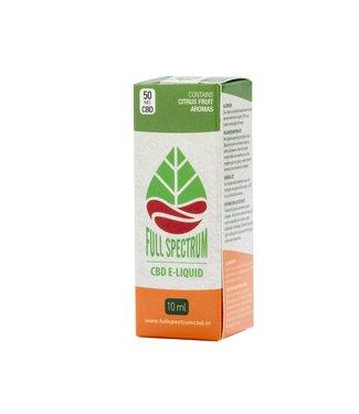 Fullspectrum CBD Fullspectrum CBD E-Liquid 50mg Citrus fruit