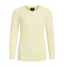 Object Object - T-shirt - Geel Wit - 23028563