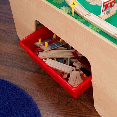 Holzeisenbahntisch