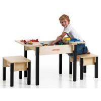Lego Tisch mit Aufbewahrung