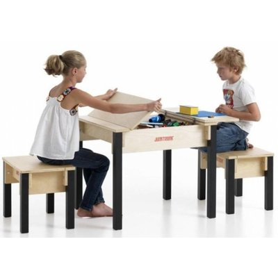 Kids Storage Table and Chairs