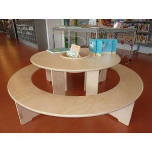 Round wooden Play Table