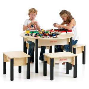 Round Lego Table