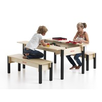 Table Lego en bois