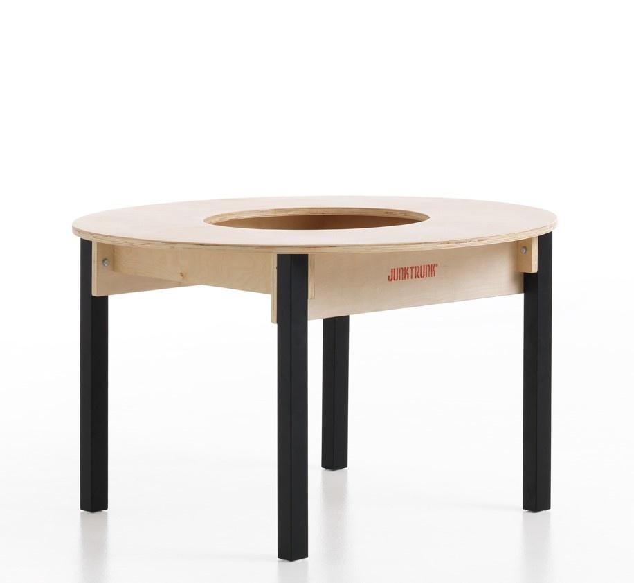 Runder Tisch Für LEGO Mit 4 Stühlen Kinderspiel