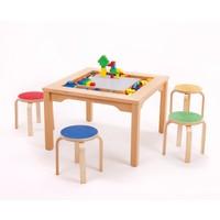 Table LEGO DUPLO avec chaises