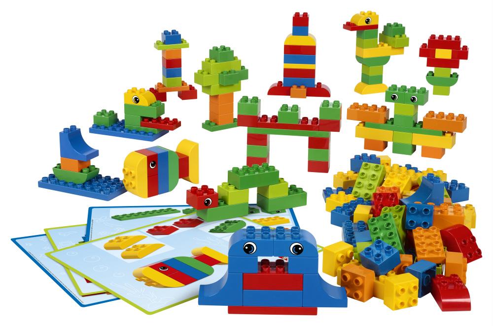 Tafel Met 14 Stoelen.Lego Duplo Tafel Met 4 Stoeltjes En Groot Pakket Duplo
