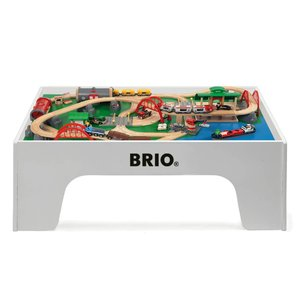 Brio wooden train table