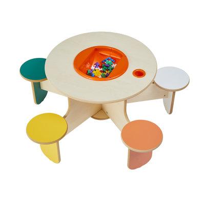 Table à jouer pour 5 enfants