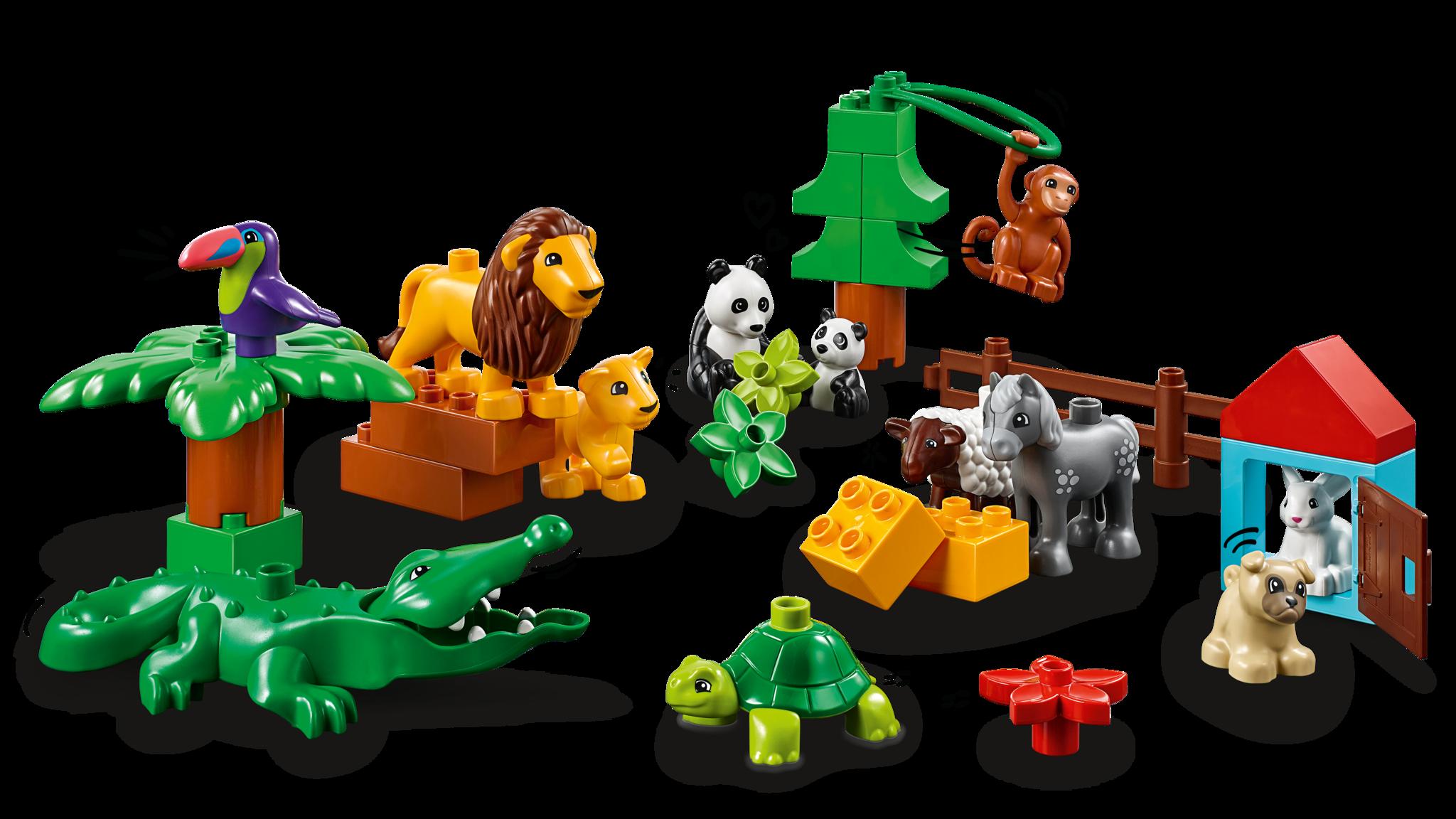 LEGO DUPLO Animals around the world XL set - KinderSpell