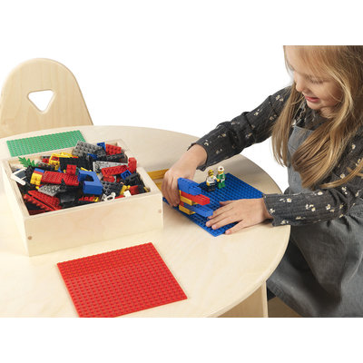 Lego Table with chairs and storage