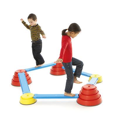 Gonge Parcours de motricité enfant Build 'n Balance