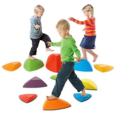 Gonge Stepping balance stones for kids - value pack