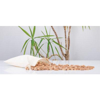 Holzbausteine type lego - Holz Klemmbausteine FabBrix - Neu!