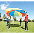 Gonge Parachute spel - regenboog parachute dansdoek 6 meter