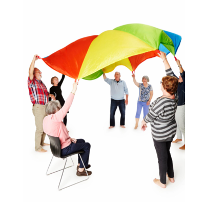 Gonge Giant rainbow Play Parachute for kids