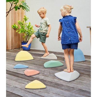 Gonge Stapstenen kind Voordeelset 11 stuks (of 9 stuks in nordic pastelkleuren)